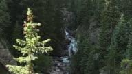Beauty shot of natural waterfall
