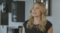INTERVIEW Becky Sheeran on her blog TalkBeckyTalk at Bloggers Interviews LFW SS15 on September 12 2014 in London England
