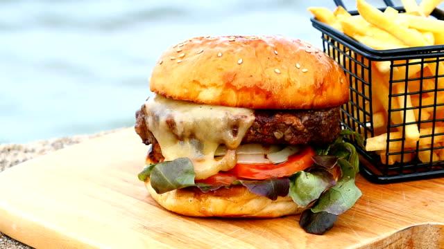 Rindfleisch-hamburger