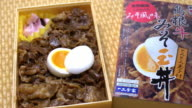 Beef Misotama-don; Railway Boxed Meal, Japan