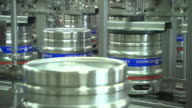 beer production, conveyor, transporting