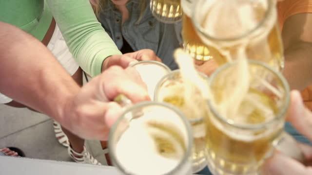 Beer Toast Friends