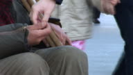 HD TIME-LAPSE: Beggar