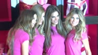 Behati Prinsloo Doutzen Kroes Alessandra Ambrosio and Marisa Miller at the Holiday Shopping Event At The New Victoria's Secret SoHo Store at New York...