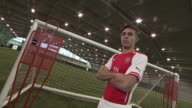 Behind the scenes photo shoot Arsenal have signed Brazilian defender Gabriel from Villarreal