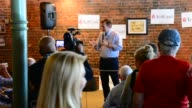 Behind the scenes speech and broll of the Ted Cruz town hall in Oskaloosa Iowa