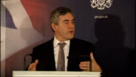Gordon Brown hosts thankyou reception for Team GB Gordon Brown MP speech SOT Great privilege to meet all of you this evening / the most successful...