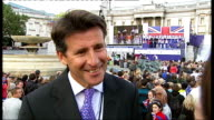 London victory parade compilation Lord Coe interview interview SOT Business partners aren't pulling out on the contrary / People will see this is a...