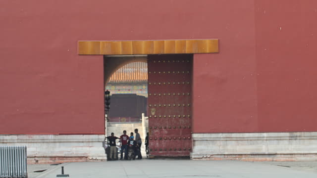 Beijing Forbidden City Gate Closed