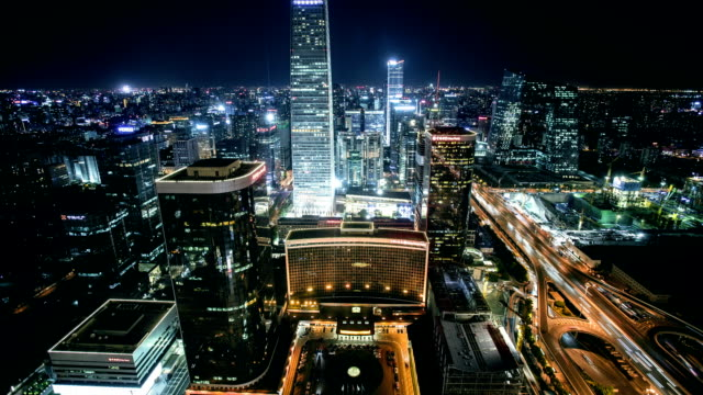 TIME LAPSE: Beijing International Trade Center