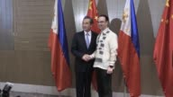 Beijing urges Southeast Asian nations to unite and say no to outside forces seeking to interfere in the South China Sea dispute in an apparent swipe...
