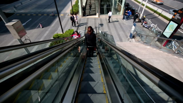 Being on an Escalator