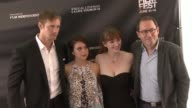 Bel Powley Alexander Skarsgård Marielle Heller and Jorma Taccone at the 2015 Los Angeles Film Festival Premiere of 'Diary of A Teenage Girl' at Regal...