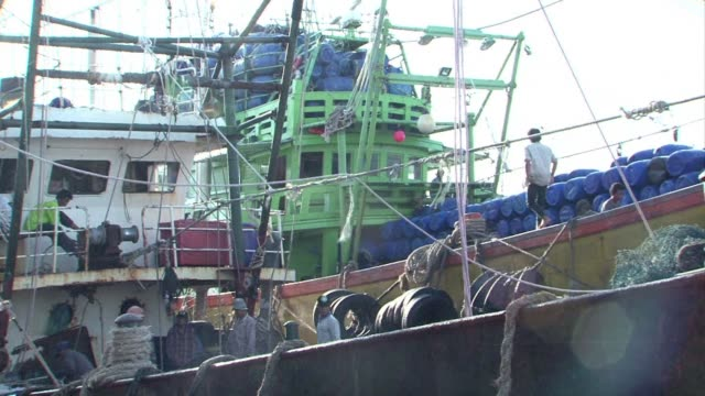 A belated Thai clampdown on illegal fishing is forcing unlicensed vessels ashore threatening to paralyse the key industry as the kingdom desperately...