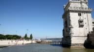 VDO : Belem Tower is landmark in Lisbon, Portugal.