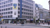 Belfast City Centre, pan to left, Northern Ireland