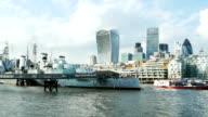 HMS Belfast Museum Schiff und City Of London
