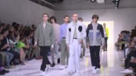 Belgian born designer Tim Coppens exhibited his Spring/Summer 2016 Collection on Wednesday at the first ever New York Men's Fashion Week