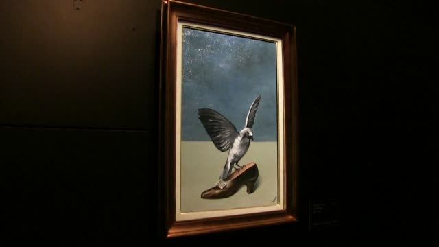 Belgian scientists succeeded in reconstructing virtually all of a lost painting by Rene Magritte a 1927 work that the Belgian master of surrealism...