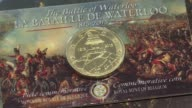 Belgium on Monday began minting 25 euro coins marking the 200th anniversary of Napoleons defeat of at the Battle of Waterloo after France forced it...