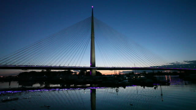 Belgrade, Serbia: New Bridge on Sava river