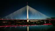 Belgrad, Serbien Neue Brücke auf Save