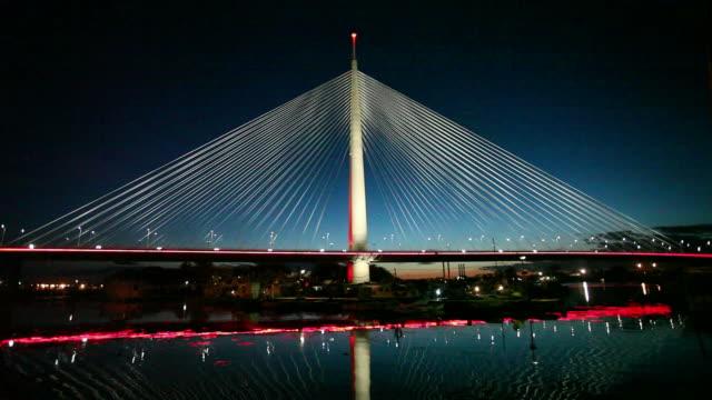 Belgrade, Serbia: New Bridge on Sava river