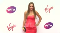 BROLL Belinda Bencic Alisa Kleybanova Victoria Azarenka at WTA PreWimbledon Party presented by Dubai Duty Free at Kensington Roof Gardens on June 19...