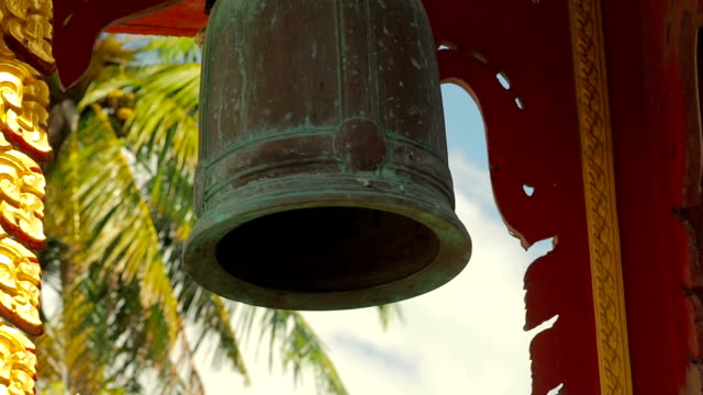 Bell in Thai Buddhist Temple