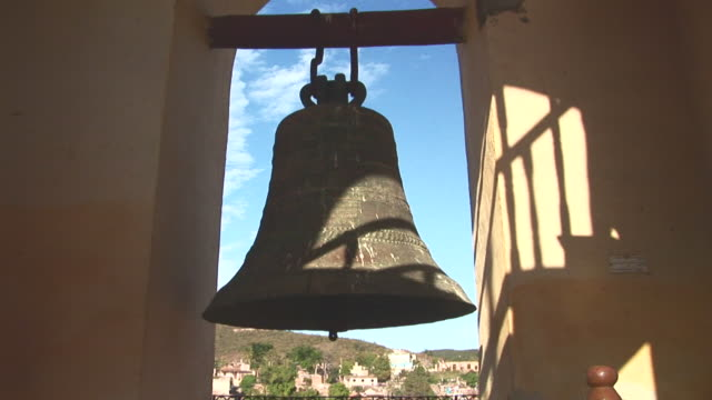 MS TD Bell in tower of San Francisco church at Trinidad / Trinidad, Sancti Spiritus, Cuba