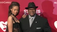 Bella Harris and Jimmy Jam at the 2016 MusiCares Person of The Year Honoring Lionel Richie at Los Angeles Convention Center on February 13 2016 in...