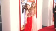 Bella Thorne and Dani Thorne at the 'Blended' Los Angeles Premiere at TCL Chinese Theatre on May 21 2014 in Hollywood California