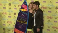 Bella Thorne and Gregg Sulkin at the Teen Choice Awards 2015 at USC Galen Center on August 16 2015 in Los Angeles California