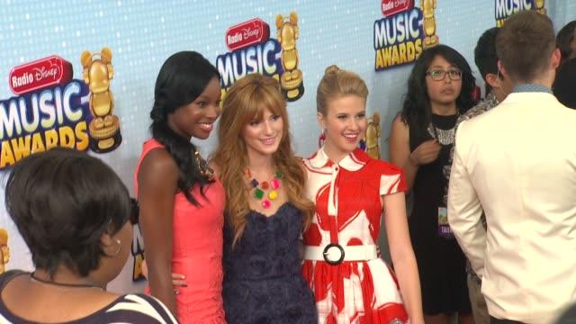 Bella Thorne Caroline Sunshine at 2013 Radio Disney Music Awards 4/27/2013 in Los Angeles CA