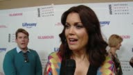 INTERVIEW Bellamy Young at Women Making History Awards Honoring Kerry Washington Instagram COO Marne Levine SpaceX President COO Gwynne Shotwell at...