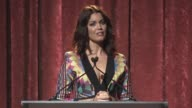 SPEECH Bellamy Young presents to Kerry Washington at Women Making History Awards Honoring Kerry Washington Instagram COO Marne Levine SpaceX...