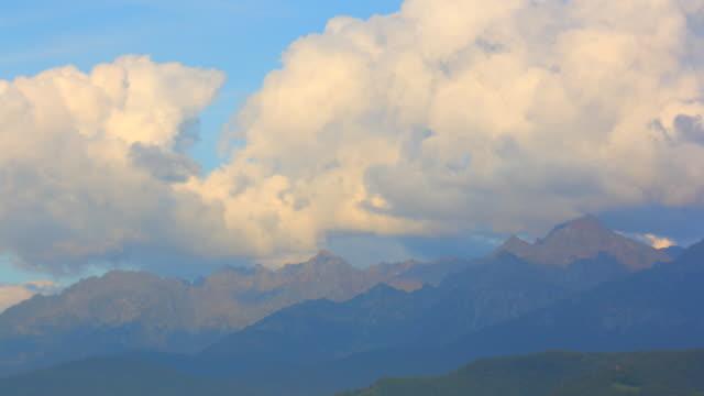 Belledonne Mountains sunset, Near Grenoble 4K