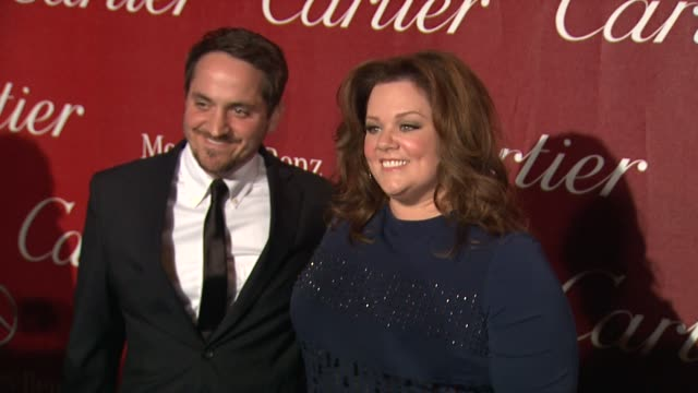Ben Falcone and Melissa McCarthy at The 23rd Annual Palm Springs International Film Festival Awards Gala on 1/7/2012 in Palm Springs CA
