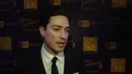 Ben Feldman on how he got to Hollywood on what role production design has played on his life at 21st Annual Art Directors Guild Excellence In...