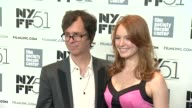 Ben Folds and Alicia Witt 'About Time' Premiere The 51st New York Film Festival at Alice Tully Hall on October 01 2013 in New York New York