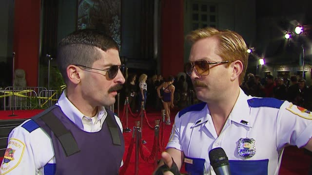 Ben Garant and Thomas Lennon on the realism in the movie the rivalry between Dangle and David Caruso and what life is like in Miami at the 'Reno 911...