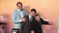 Ben Kissel Marcus Parks and Henry Zebrowski of Last Podcast at The 21st Annual Webby Awards Arrivals at Cipriani Wall Street on May 15 2017 in New...