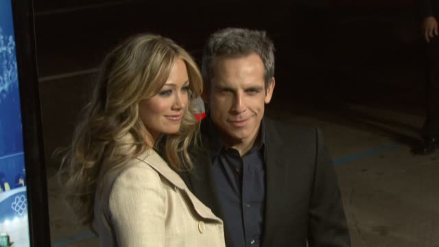 Ben Stiller and Christine Taylor at the 'Blades of Glory' Premiere at Grauman's Chinese Theatre in Hollywood California on March 28 2007
