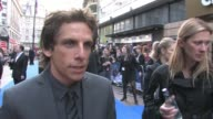 Ben Stiller on Zoolander being in development on being the third most powerful man in Hollywood at the Night At The Museum 2 World Premiere at London...