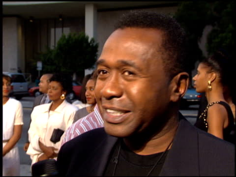 Ben Vereen at the 'Bad Boys' Premiere at the Cinerama Dome at ArcLight Cinemas in Hollywood California on April 6 1995