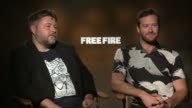INTERVIEW Ben Wheatley and Armie Hammer at 'Free Fire' Los Angeles Press Day at 'Free Fire' Los Angeles Press Day at Four Seasons Hotel Los Angeles...