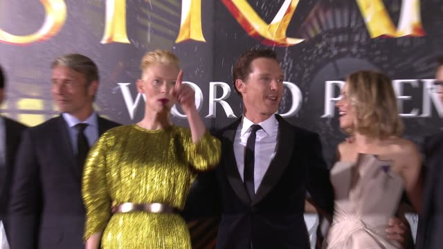 Benedict Cumberbatch Rachel McAdams Tilda Swinton Benedict Wong Benjamin Bratt Mads Mikkelsen Scott Derrickson Victoria Alonso Kevin Feige on October...