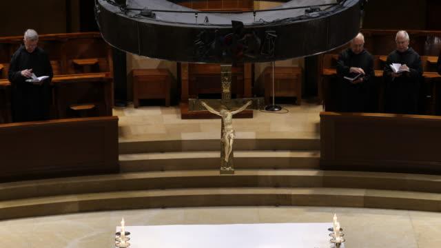 Benedictine abbey Santa Maria de Montserrat in Spain