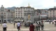 Benedictine Einsiedeln Abbey square