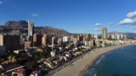Benidorm coast. Spain